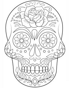 cráneos-chistosos-para-colorear