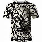 camiseta de craneos