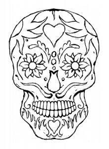 cráneos chingones para dibujar