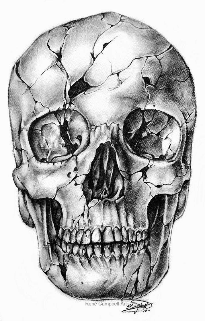 Dibujos de Cráneos